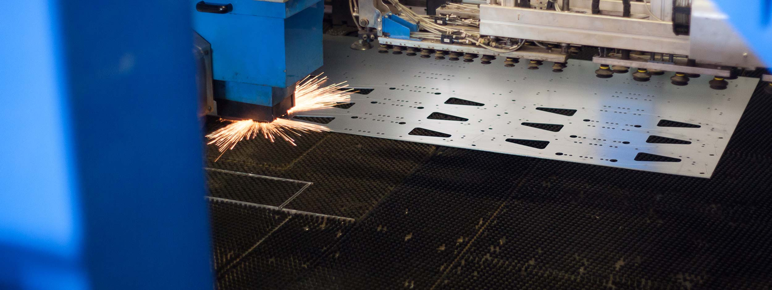 LASER CUTTING, PUNCHING, BENDING, WELDING, MACHINING, FINISHING, ASSEMBLING